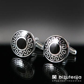 SPENCER Okrogli moški manšetni gumbi M-146